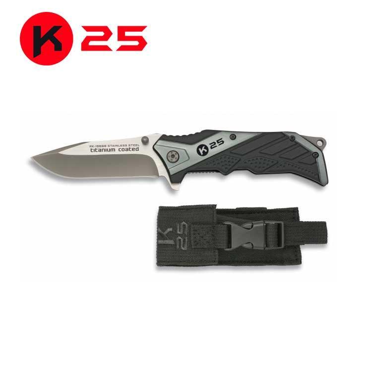 Navaja K25 Negra/Gris