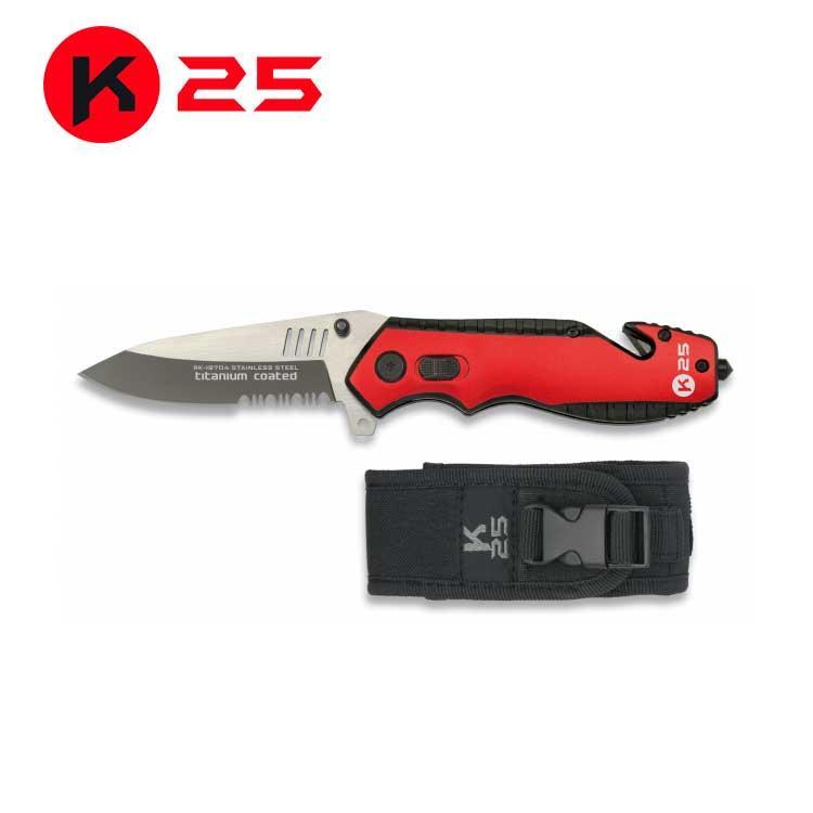 Navaja Seguriadad K25 Roja