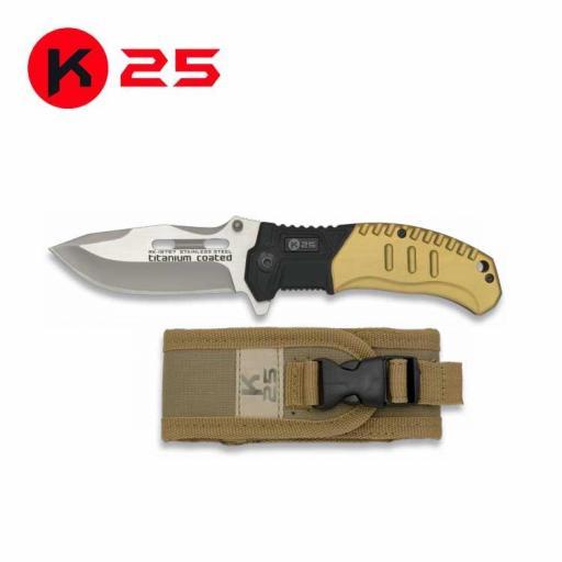 Navaja Tactica Coyote K25