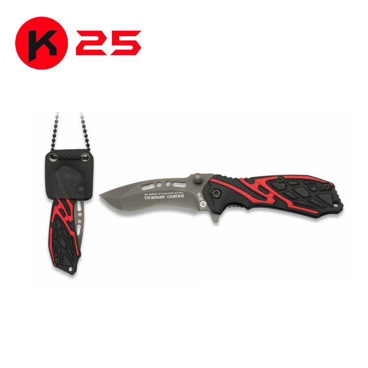 Navaja Tactica K25 con Funda Kydex