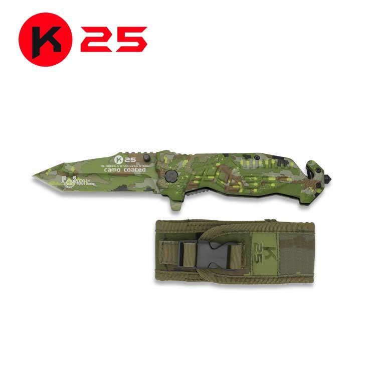 Navaja Asistida K25 Camo