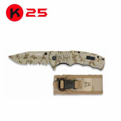 Navaja Tactica K25 Camo Arido