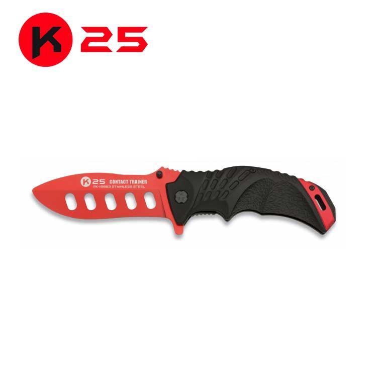 Navaja K25 Entrenamiento Roja