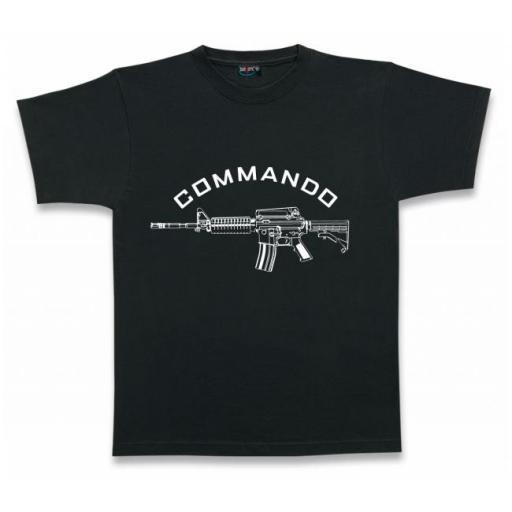 Camiseta COMMANDO