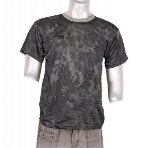 Camiseta Black Phyton Camo