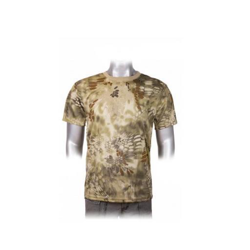Camiseta Coyote Phyton Camo