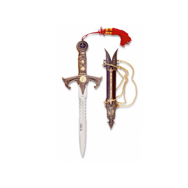 Cuchillo Ornamento TEMPLARIO