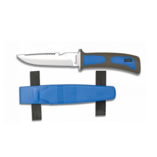 Cuchillo Submarinismo Azul