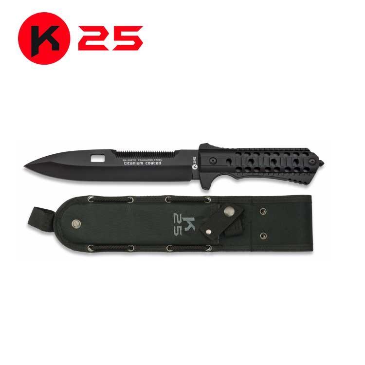 Cuchillo Tactico con Tungsteno K25