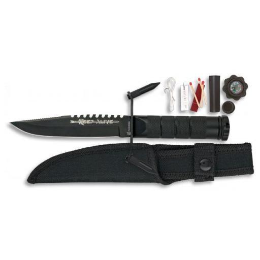 Cuchillo Supervivencia Albainox  [0]