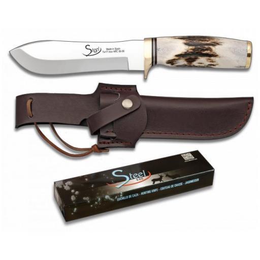 Cuchillo de Caza Ciervo STEEL 440 [0]
