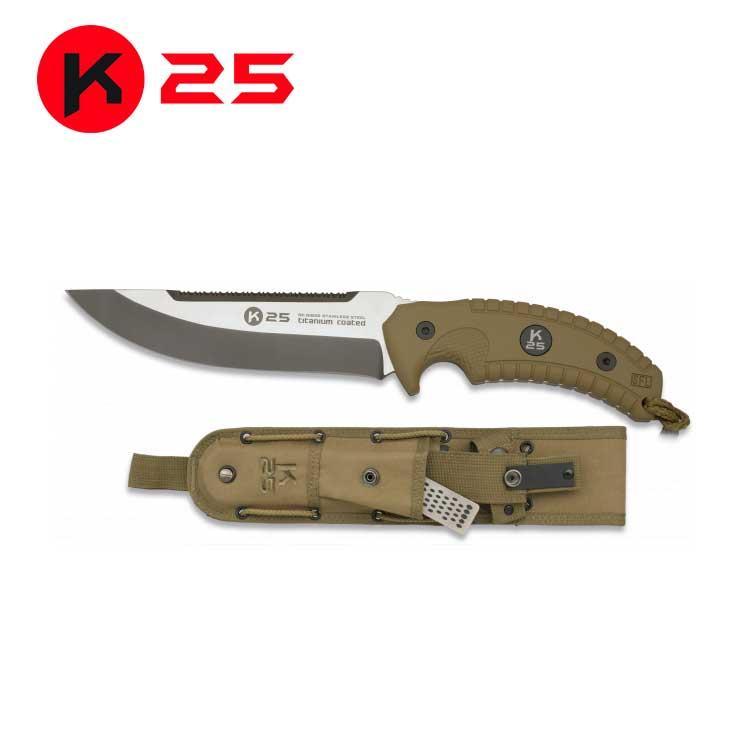 Cuchillo Tactico Coyote K25
