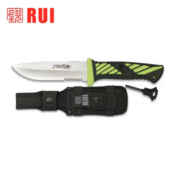 Cuchillo Outdoor RUI ENERGY YOWIE Verde