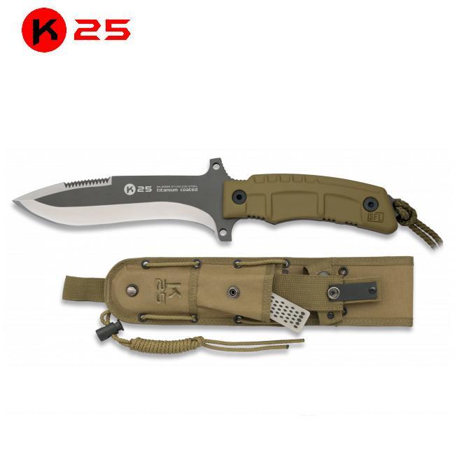 Cuchillo Tactico K25 Coyote