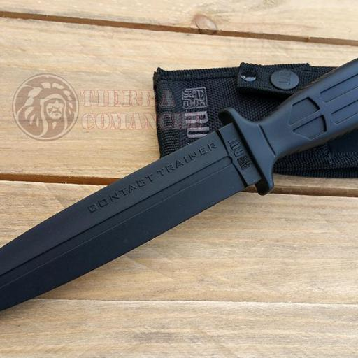 Cuchillo de Goma Entrenamiento Rojo / Negro [2]