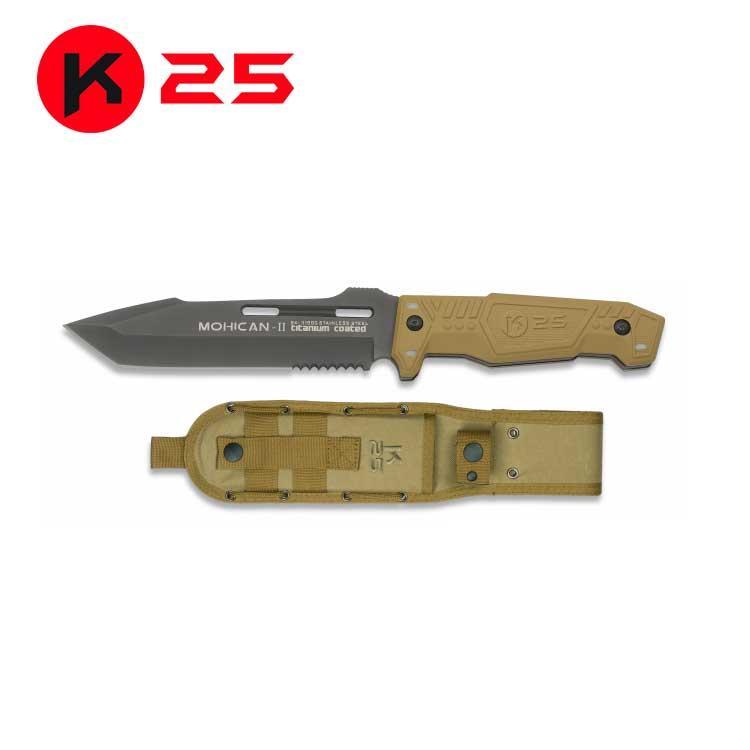 Cuchillo Tactico K25 MOHICAN II