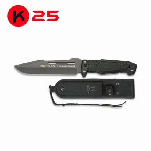 Cuchillo Tactico K25 MOHICAN I
