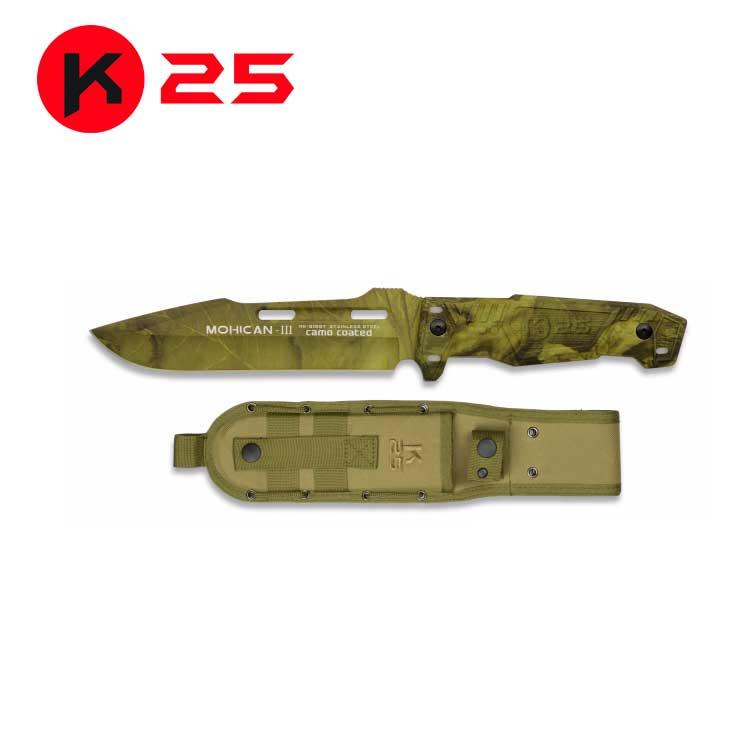 Cuchillo Tactico K25 MOHICAN III