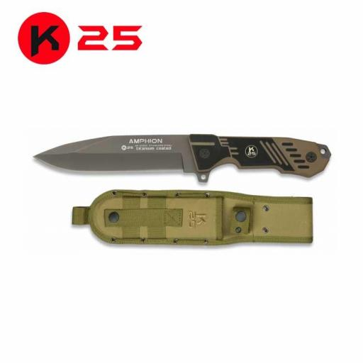 Cuchillo Tactico K25 AMPHION