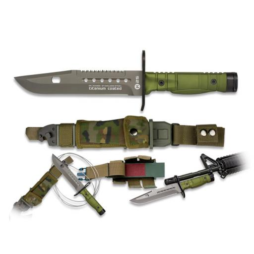 Cuchillo Bayoneta K25 Verde