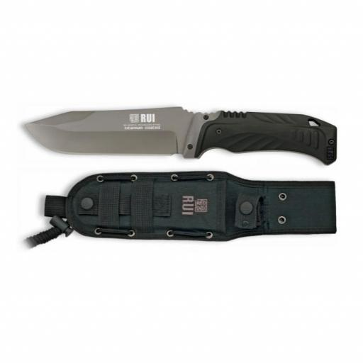 Cuchillo Tactico RUI Negro