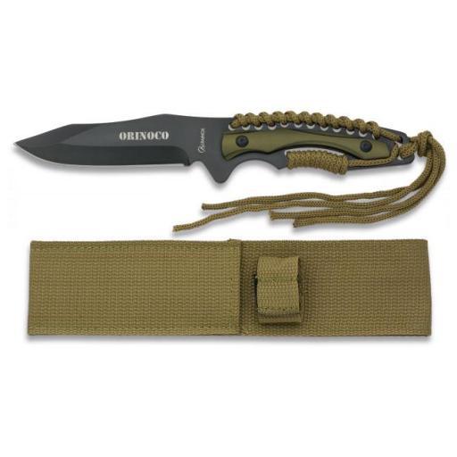 Cuchillo Tactico BLACK FINISHED