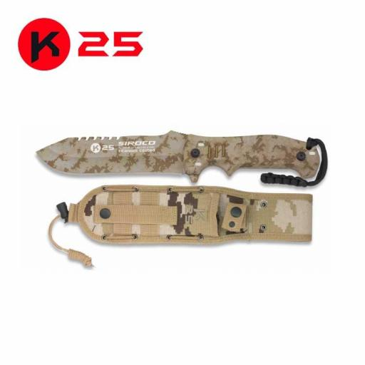 Cuchillo Tactico SIROCO K25