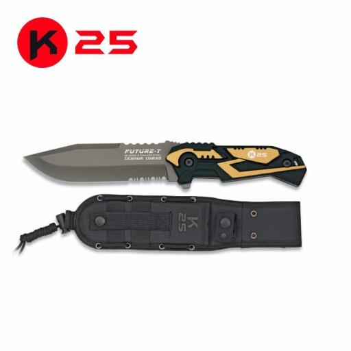 Cuchillo Tactico K25 FUTURE-T