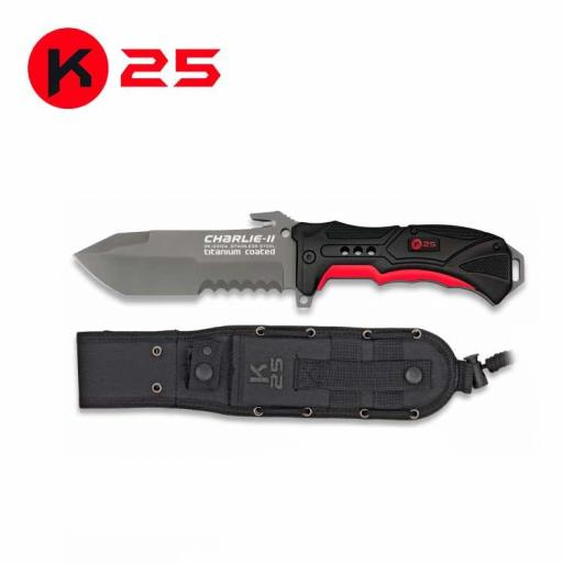 Cuchillo Tactico K25 CHARLIE II