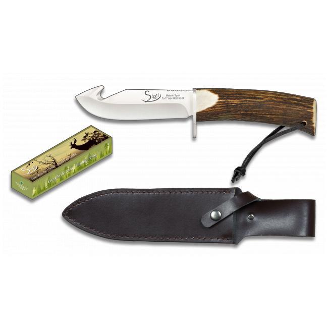 Cuchillo de Caza Asta de Ciervo STEEL 440