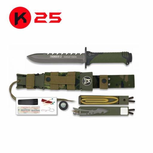 Cuchillo Tactico K25 THUNDER II