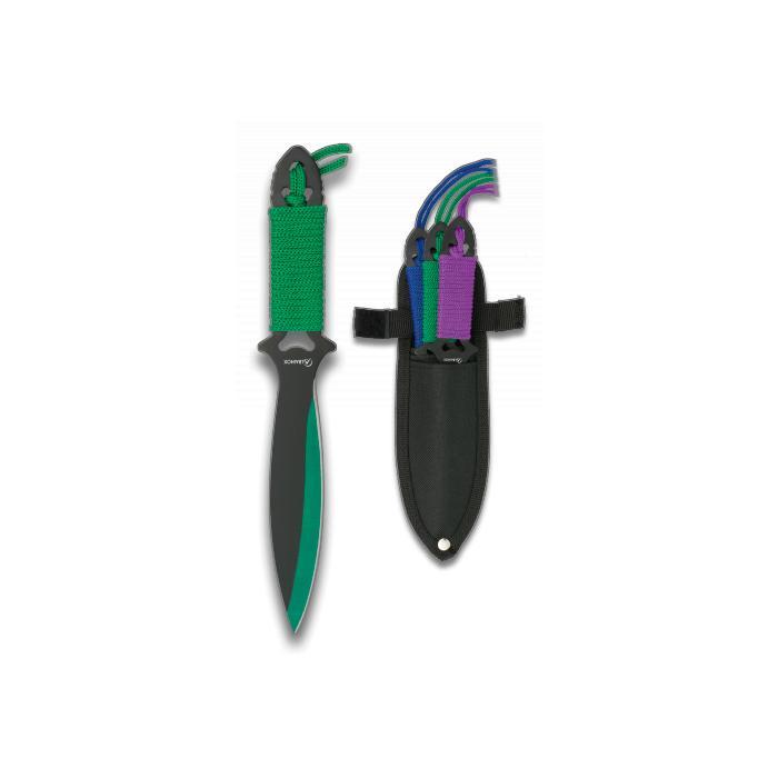 Set de 3 Cuchillos Lanzadores