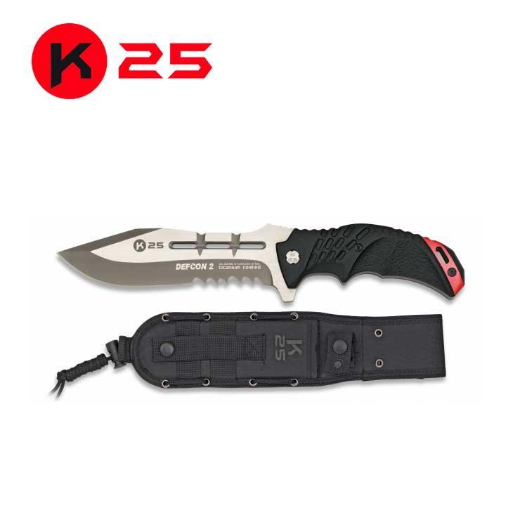 Cuchillo Tactico K25 DEFCON II
