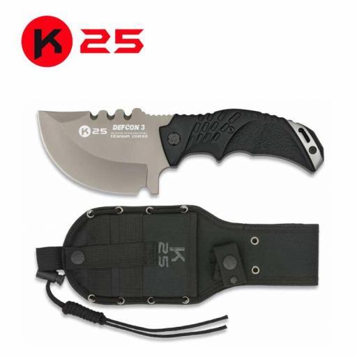Cuchillo Tactico K25 DEFCON III