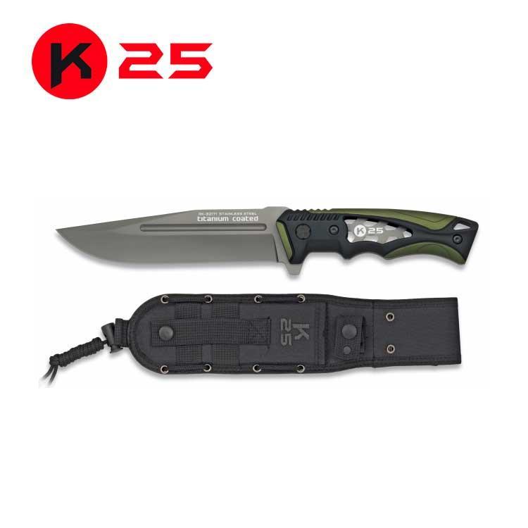 Cuchillo Tactico K25 Verde