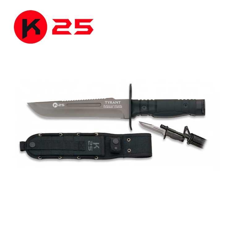 Cuchillo Bayoneta TYRANT K25