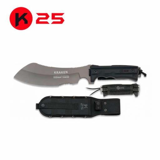 Cuchillo Tactico K25 KRAKEN