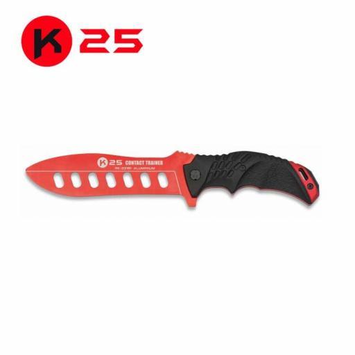 Cuchillo Entrenamiento K25 Rojo