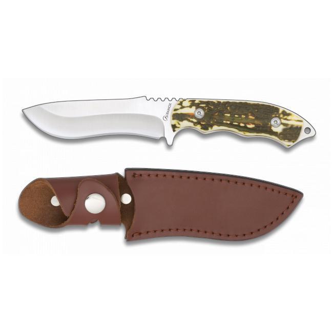 Cuchillo de Caza Imitacion Asta de Ciervo