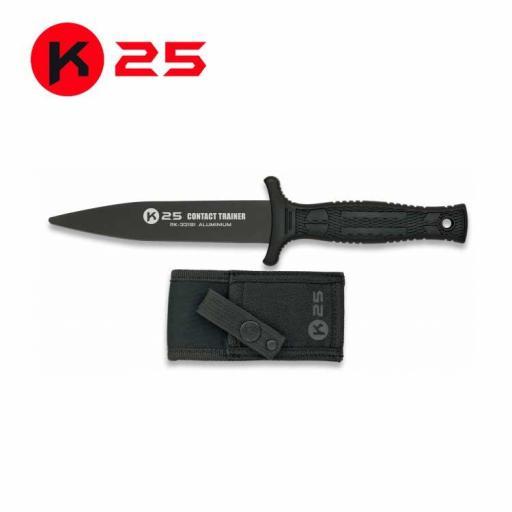 Cuchillo Entrenamiento K25 Negro [0]