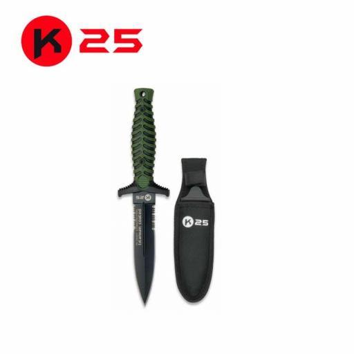 Cuchillo Botero K25 Verde
