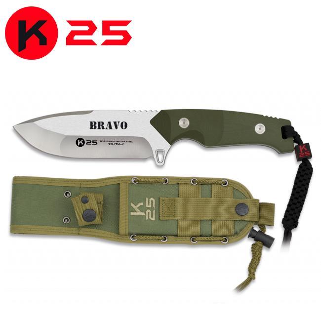 Cuchillo Tactico K25 BRAVO