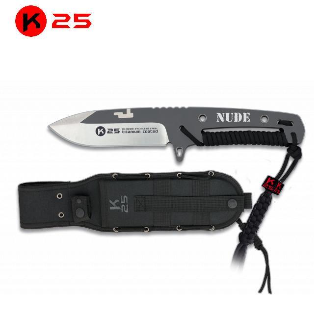 Cuchillo Encordado K25 NUDE