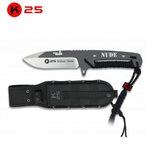 Cuchillo Encordado K25 NUDE