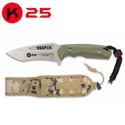 Cuchillo Tactico K25 VOSPER