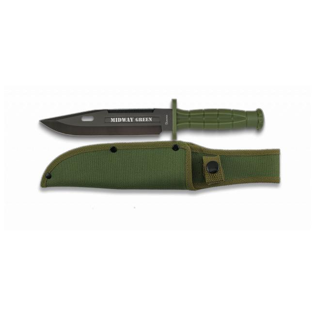 Cuchillo Tactico MIDWAY GREEN