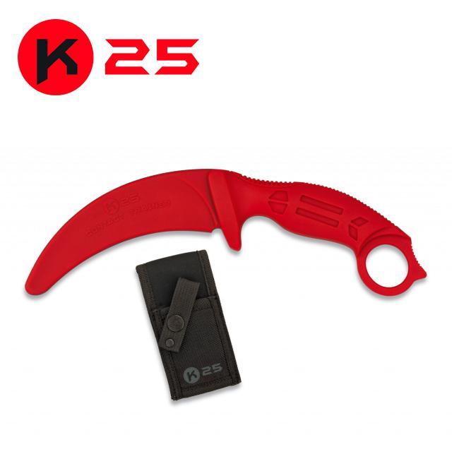Cuchillo de Entrenamiento K25 Rojo