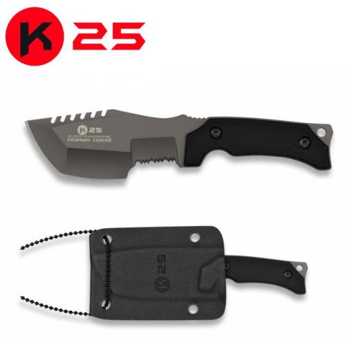 Cuchillo Colgante K25 Tracker  Kydex