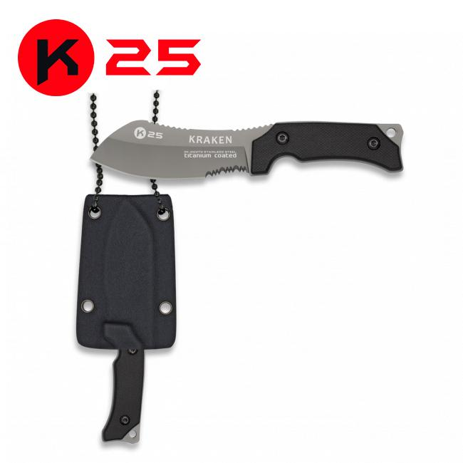 Cuchillo K25 G10 KRAKEN Funda Kydex
