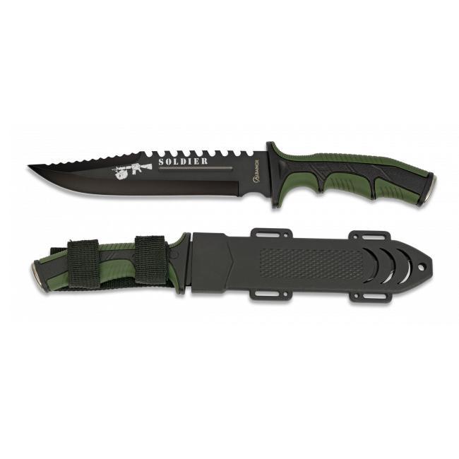 Cuchillo Tactico SOLDIER Verde